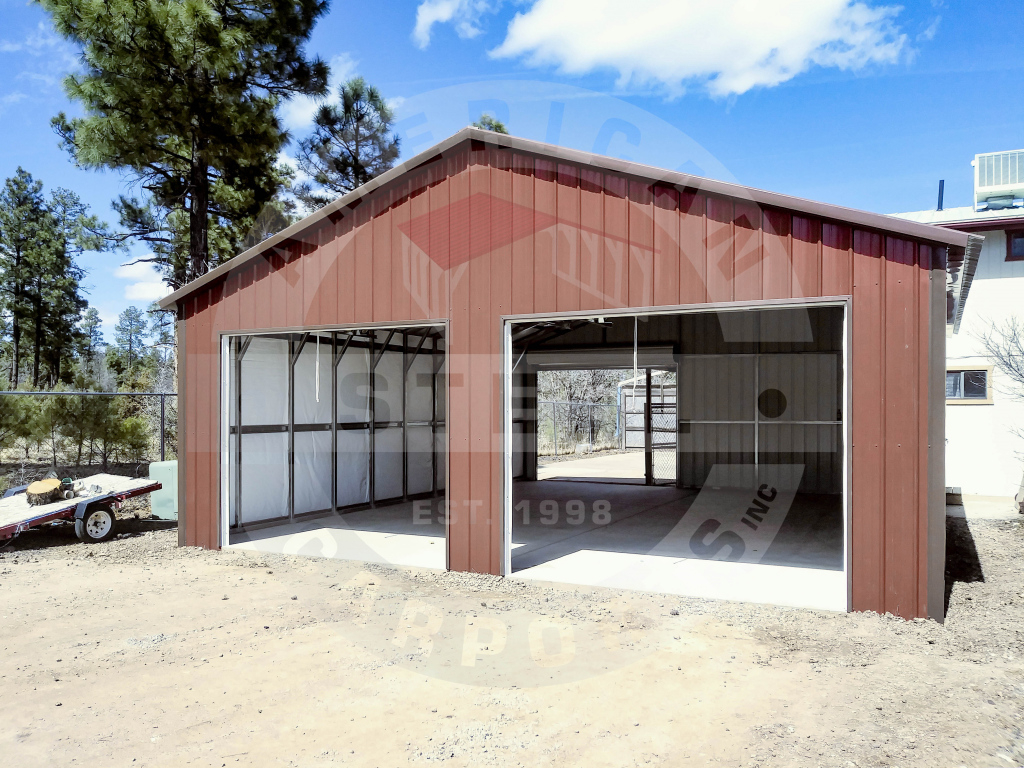 So Many Options To Enhance Your Metal Building  American Image Sample for American Steel Carport Sales