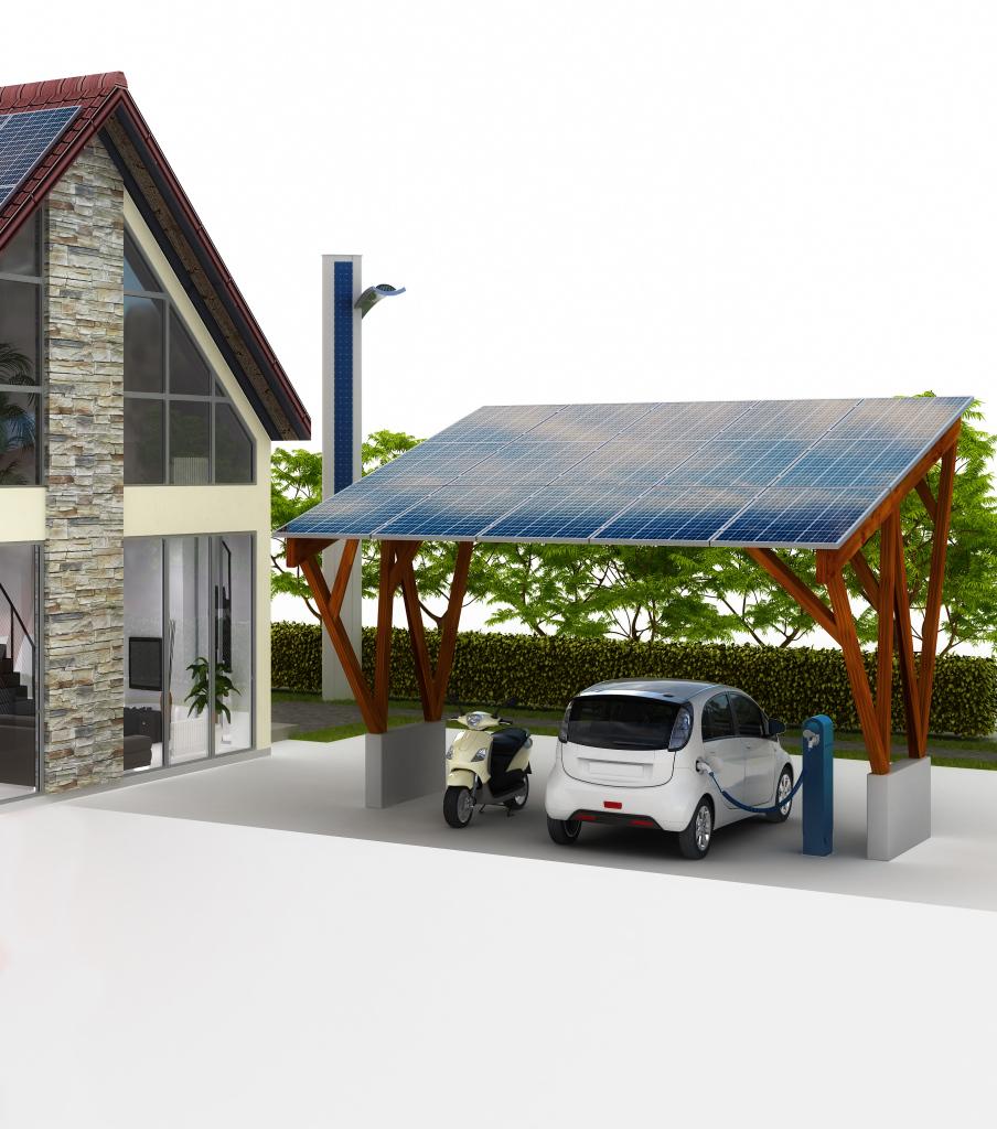 Solar Carport Archives  Aylux Sonnenschutzsysteme Picture Example in Solar Carport Residential