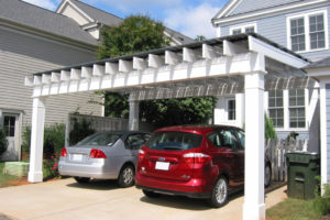 Solar Pergola  Blue Green House Photo Sample of Residential Solar Carport Cost