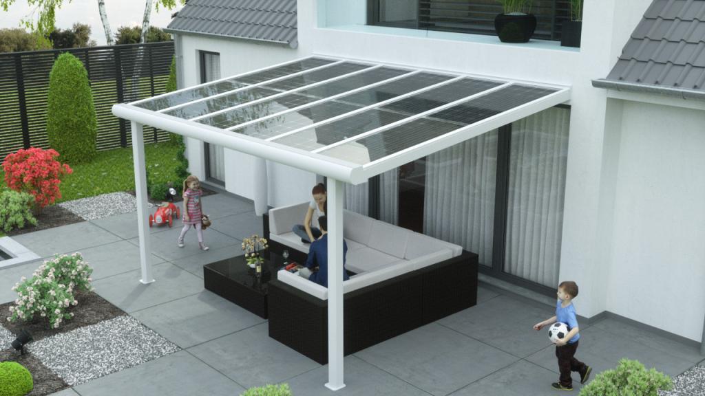 Solar Terrassen Ab 9800 €  0€ Versandkosten  Premium Image Sample in Solar Carport Residential