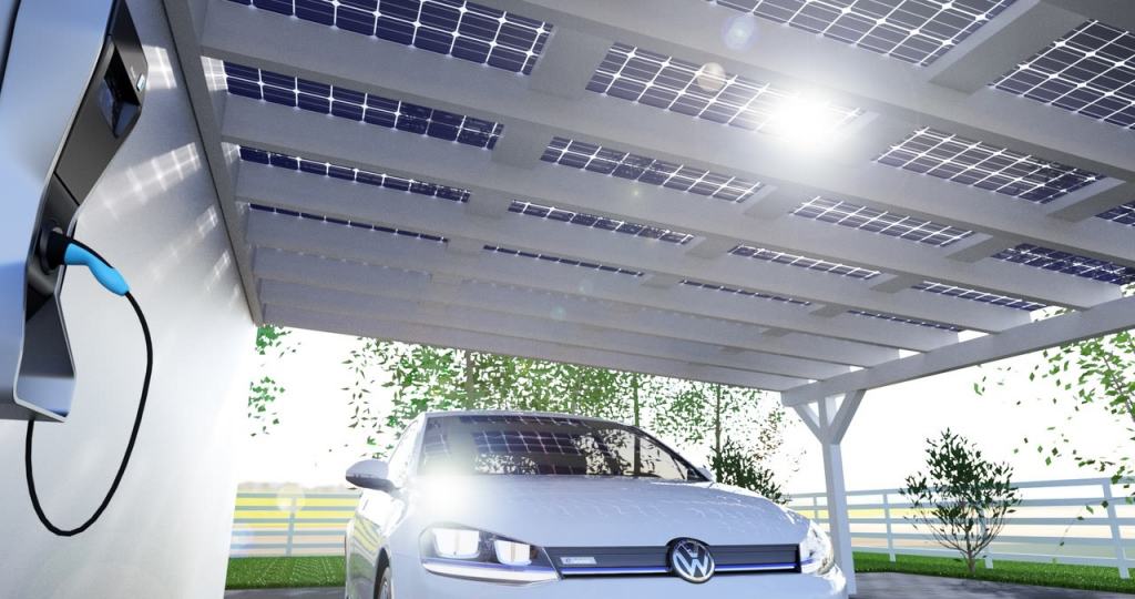 Solarcarport Ab 0– € Aus Holz Alu Oder Stahl  30 Jahre Image Example for Solar Carport Design