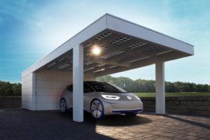 Solarcarport Ab 0– € Aus Holz Alu Oder Stahl  30 Jahre Photo Example of Solar Carport Design