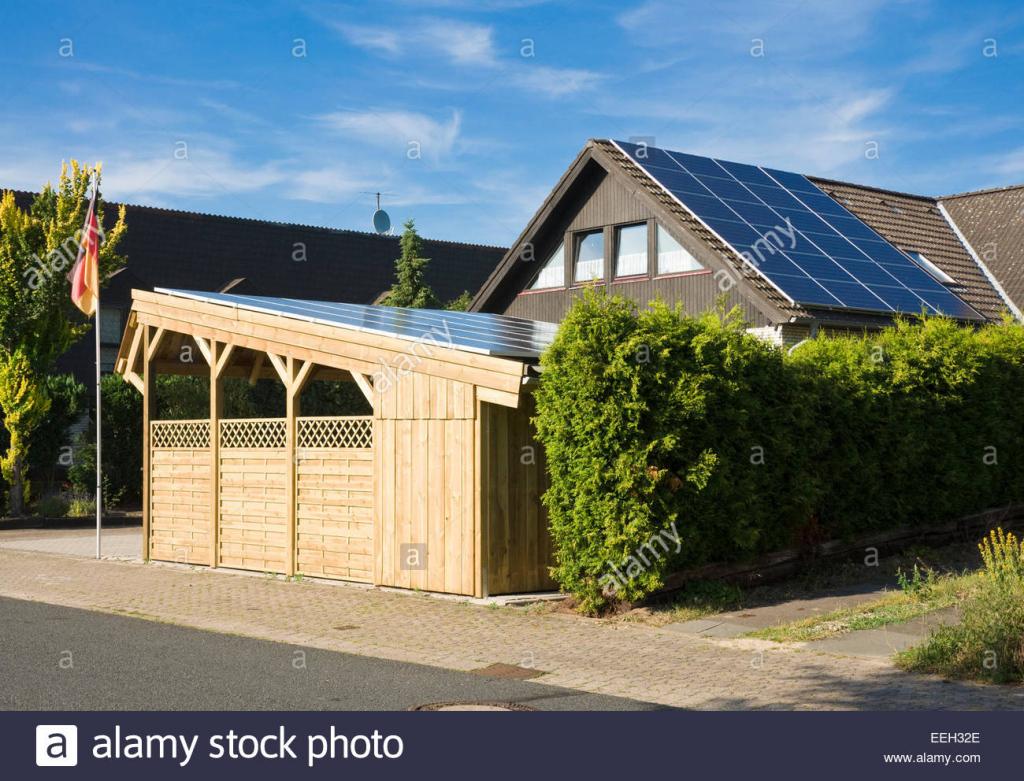 """Solarcarport """"sunport"""" Bereitstellung Von Unterkünften Und Picture Example for Solar Carport Residential"""