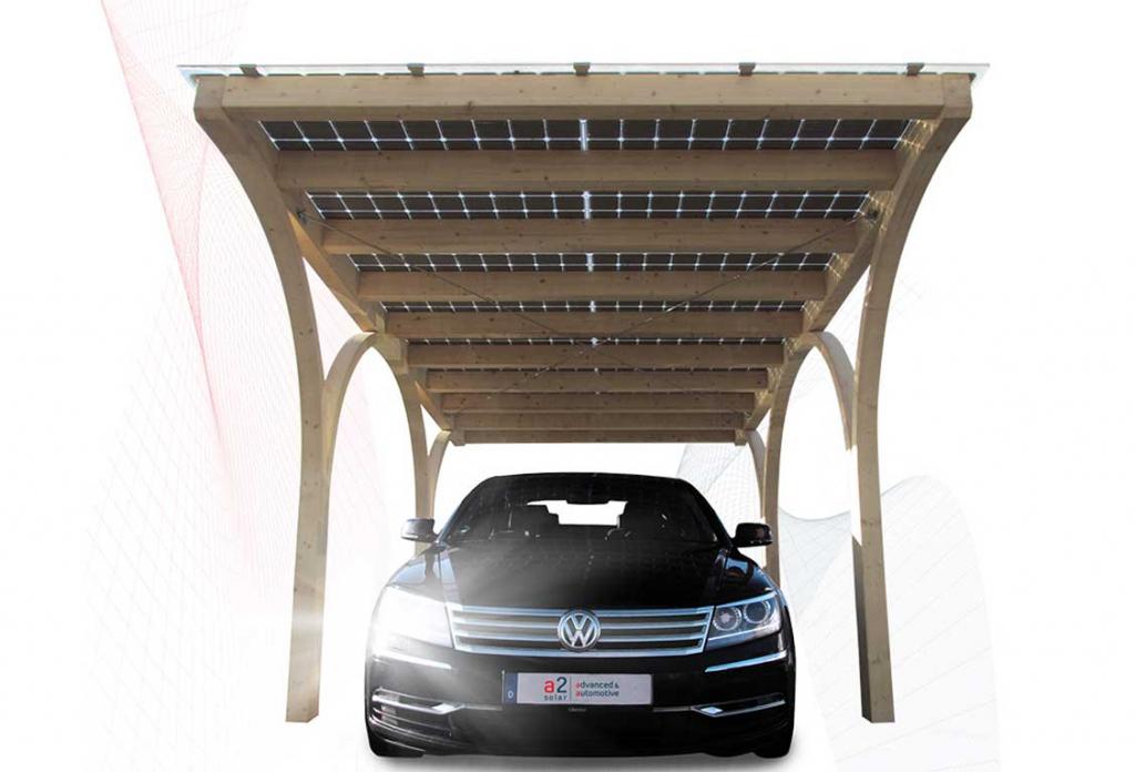Solarcarports Von A2Solar Picture Example for Solar Carport Design
