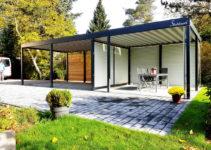 Stahlzart Carport Design Studio · Carport Metall Stahl Holz Photo Sample for Backyard Carport Designs