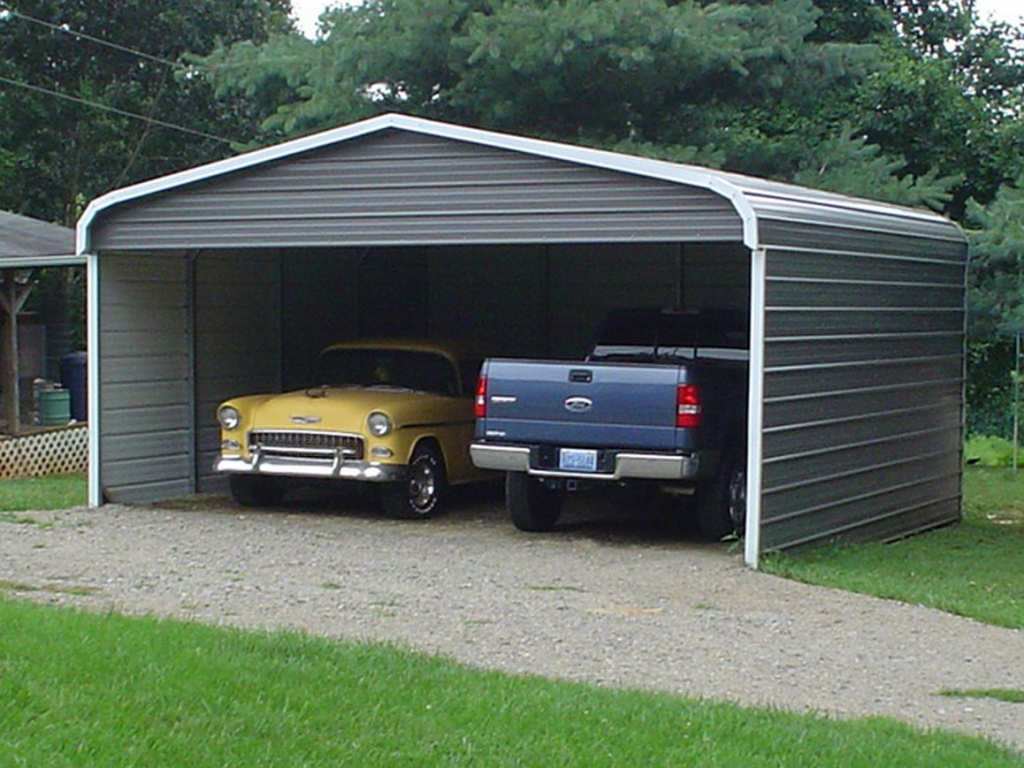 Steel Buildings  Carports Gallery – Superior Sheds Photo Sample for Steel Carport With Sides