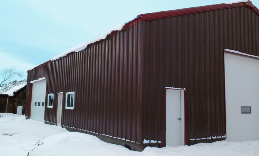Steel Buildings Snow Load  Roof Pitch For Snow  General Steel Picture Sample in Metal Carport Snow Load