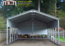 Tacoma Steel Metal Carports  Hci Steel Building Steel Picture Sample in Metal Carport Sheds