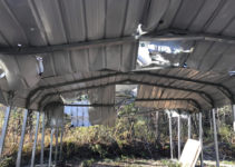 The Best Carport Removal Service  Grunts Move Junk Image Example for How To Disassemble A Metal Carport