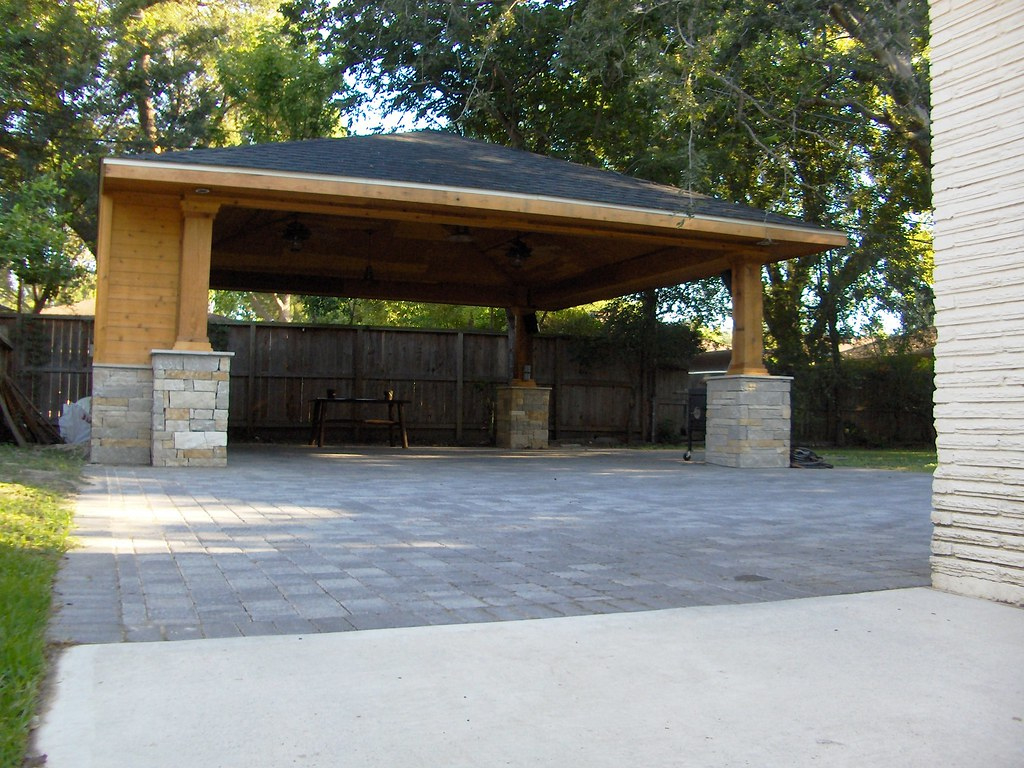 The World's Best Photos Of Carport And Roofaddition  Flickr Facade Sample of Wood Carport With Storage
