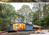 This Midcentury Modern House In North Carolina Received A Picture Sample in Mid Century Modern Carport Conversion