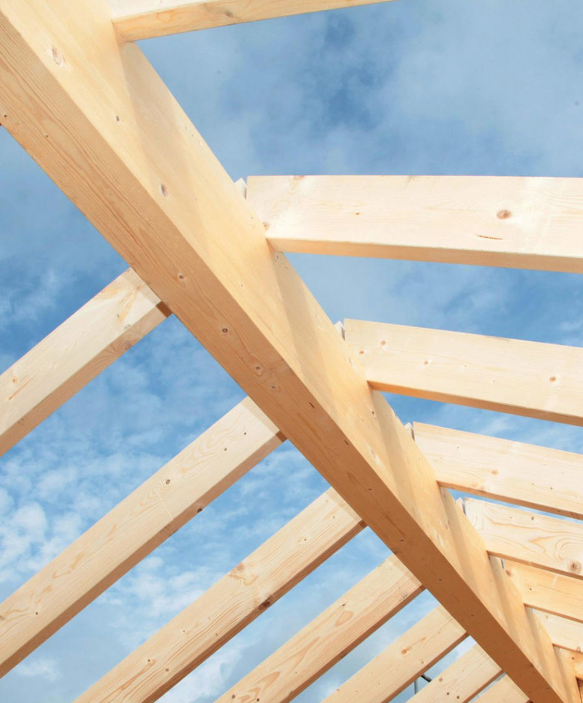 Timber Construction  Spax International Image Example in Wood Carport Trusses