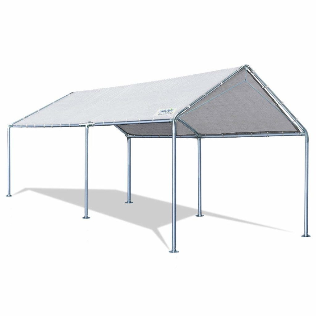 Top 5 Best Carports Review 2019  Best Tools Advisor Picture Example of King Canopy 10 X 20 Ft Canopy Carport 6 Legs