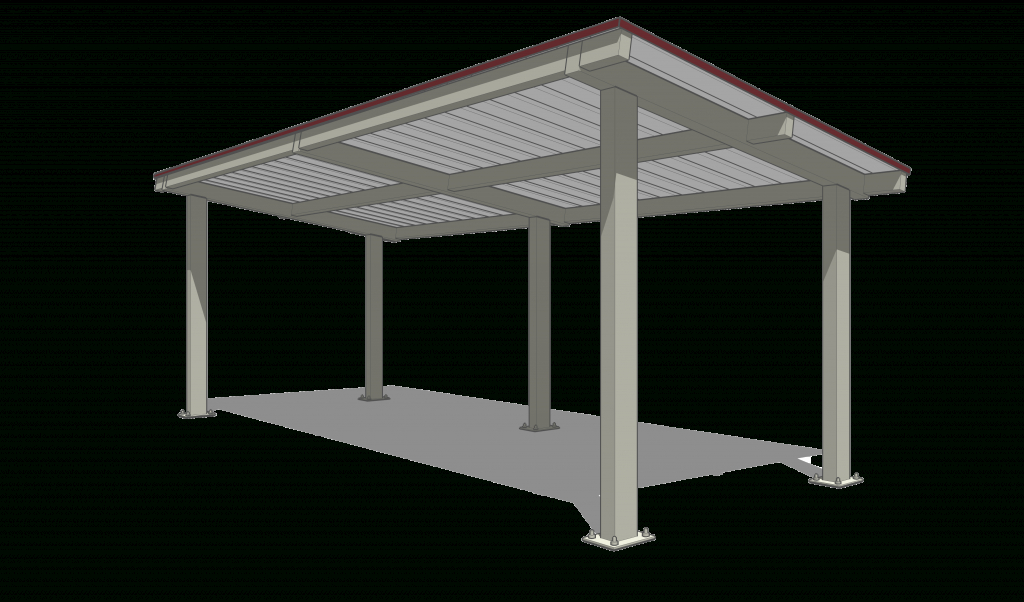 Tubular Cantilever Carport Picture Example for Cantilever Carport Diy