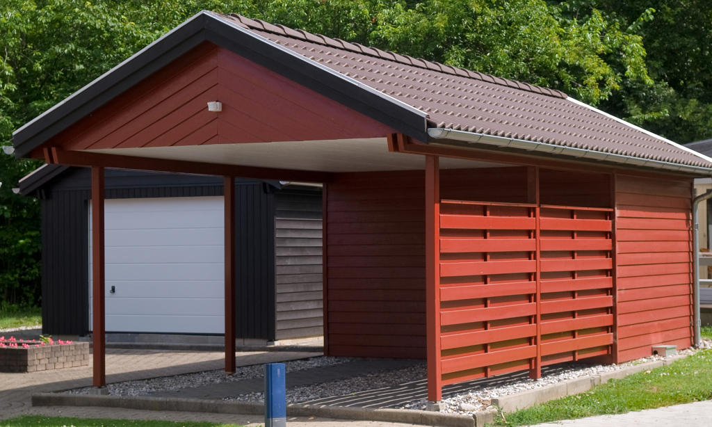 Turning Your Carport Into Prime Real Estate  Pavertime Image Sample of How To Turn A Metal Carport Into A Garage