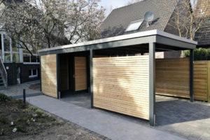 Unsere Carportvielfalt Im Modernen Design  Carporthaus Image Example of Modern Carport Design