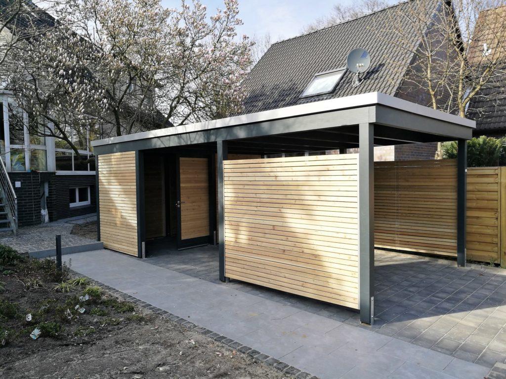 Unsere Carportvielfalt Im Modernen Design  Carporthaus Picture Example for Metal Carport Designs