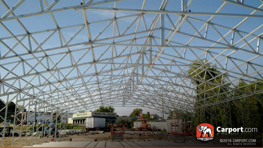 Utah Carports Metal Buildings And Garages Photo Example of Metal Carport Salt Lake