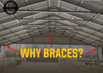 Why Braces On Your Metal Carport  American Steel Carports Photo Example for Metal Carport Bracing