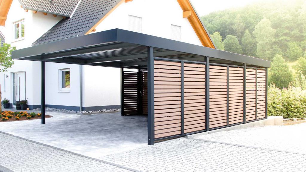 Wilfried De Jonge  Carport  Garage Photo Example for Close In Metal Carport