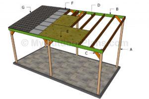 Wooden Carport Plans  Myoutdoorplans  Free Woodworking Image Sample for Build Wood Carport