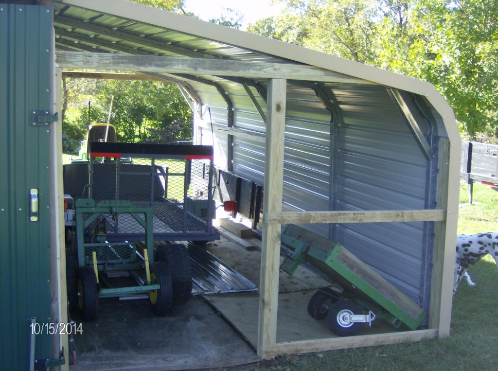 Workshop Addict  Woodworking Metal Fabrication Diy  Home Image Sample in Diy Carport Lean To