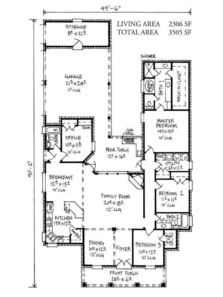 Wyatt Picture Sample of Carport House Plans